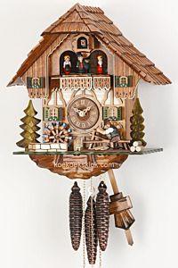 Koekoeksklok met dakpanmaker