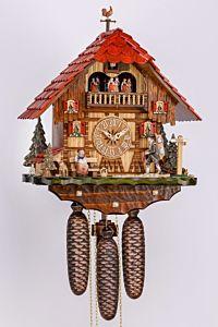 Koekoeksklok met klokkenmannetje