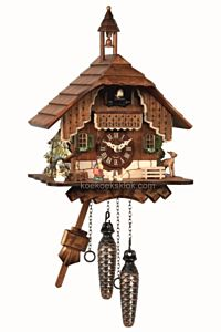 Schwarzwaldhuis met toren