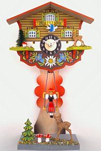 Staand miniatuur klokje