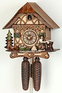 Vakwerk Schwarzwaldhuis met houtzager