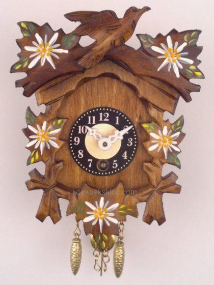 Handbeschilderd miniatuur klokje