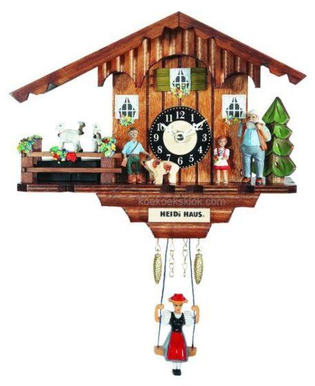Miniatuur klokje Heidihuis