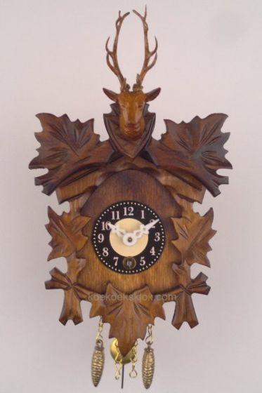 Miniatuur klokje met hertenkop