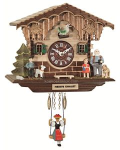 Miniatuur klokje Heidi