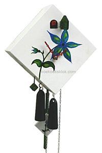 Handbeschilderde design koekoeksklok