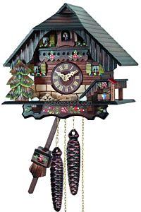 Handbeschilderd Schwarzwaldhuis