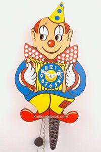 Miniatuur klokje clown